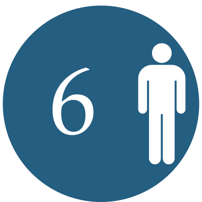 6 osôb