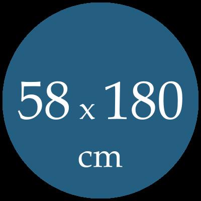 Rozmer karimatky 58x180