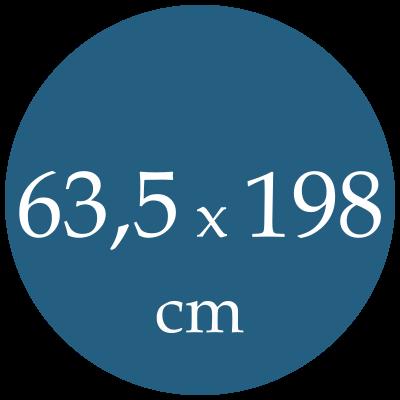 Rozmer karimatky 63,5x198