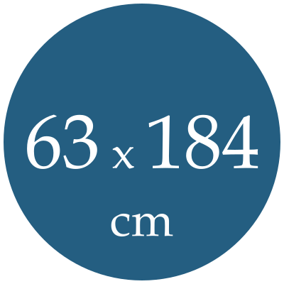 Rozmer karimatky 63x184