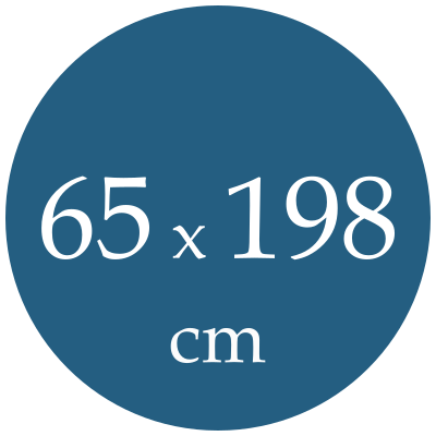 Rozmer karimatky 65x198