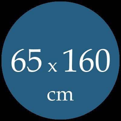 Rozmer spacieho vaku  65x160