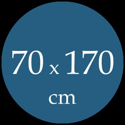 Rozmer spacieho vaku  70x170