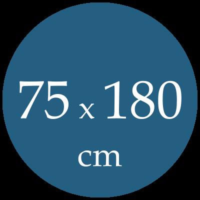 Rozmer spacieho vaku  75x180