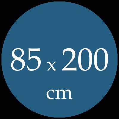 Rozmer spacieho vaku  85x200