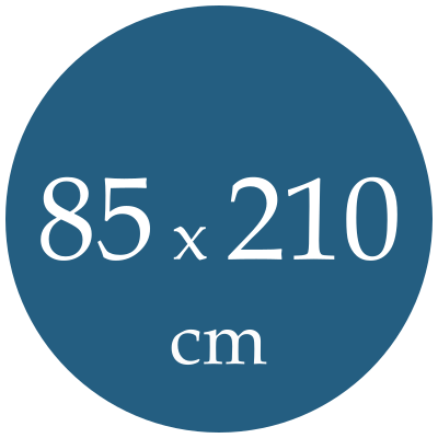 Rozmer spacieho vaku  85x210
