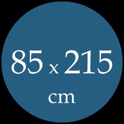 Rozmer spacieho vaku  85x215