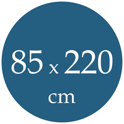 Rozmer spacieho vaku  85x220
