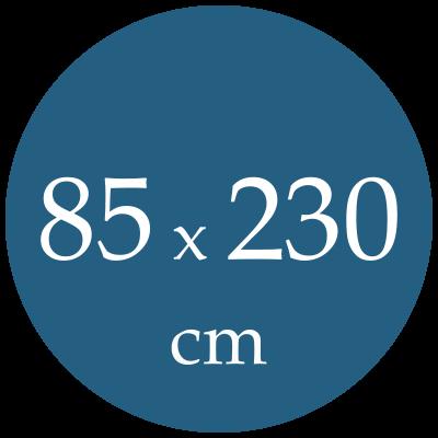 Rozmer spacieho vaku  85x230
