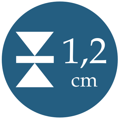 Hrúbka 1,2 cm