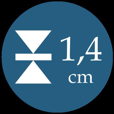 Hrúbka 1,4 cm
