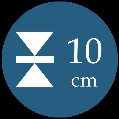 Hrúbka 10 cm