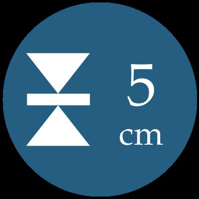 Hrúbka 5 cm