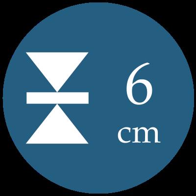 Hrúbka 6 cm